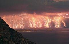 世界雷暴现象发生