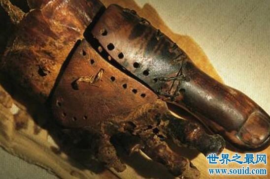 世界上最古老的假肢,古墓主人大脚趾(距今3000年)