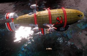 红警中最恐怖的军事武器基洛夫飞艇,实际上却是废材