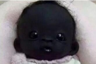世界上最黑的孩子
