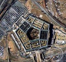 美国国防标志性建筑成五边形的五角大楼
