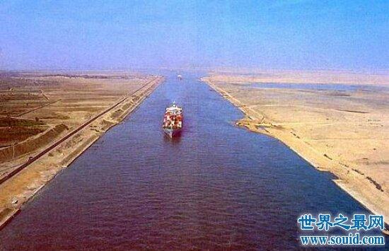 揭秘苏伊士运河过路费  每年约一亿美元(在五十年代)