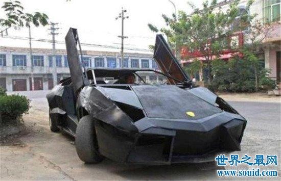 牛人改造史上最牛跑车,外形竟然酷似兰博基尼!