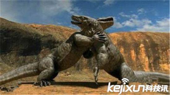 【沧龙】远古巨兽大复活王者之争 沧龙秒杀霸王龙