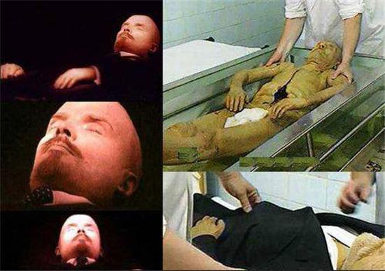 列宁的木乃伊,尸体