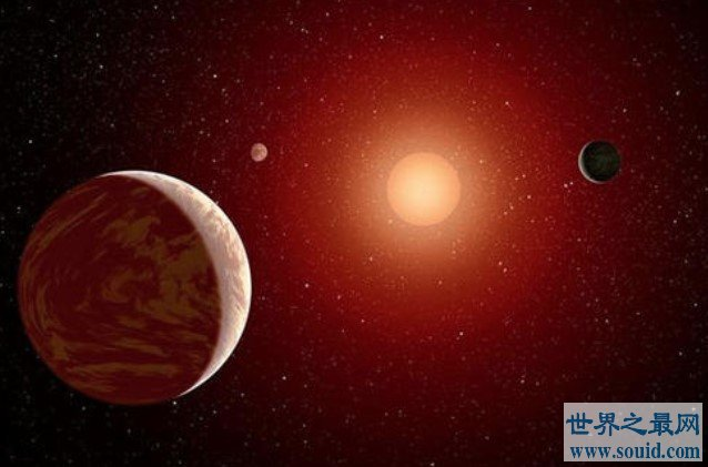 首颗类地行星,直径