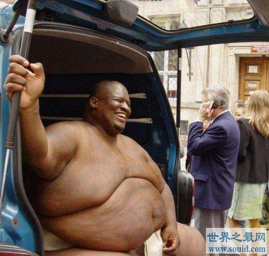 世界上最重的运动员之一,体重达到了830斤